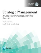 Strategic Management: A Competitive Advantage Approach, Concepts by Fred R. Davi