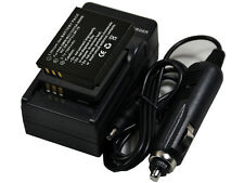 new 2pcs BP-DC4 Battery and Charger for Leica C-LUX1 D-LUX4 D-LUX2 D-LUX3 CAMERA