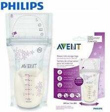 AVENT 25 x Breast Milk Storage Bags of 180ml. Pre-sterilised, Secure, Double Zip