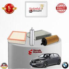 KIT TAGLIANDO FILTRI BMW SERIE 1 F20 114 D 70KW 95CV DAL 2014 ->