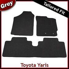 TOYOTA YARIS Mk2 / XP90 2006-2011 Tailored Carpet Car Floor Mats GREY