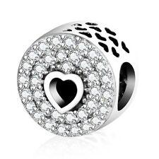 PANDORA Love Hearts Traditional Fine Charms & Charm Bracelets