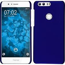 Funda Rígida Huawei Honor 8 - goma azul + protector de pantalla