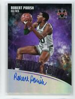 2017-18 Robert Parish 05/25 Auto Panini Vanguard Autographs Cosmic Force