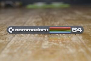 Commodore 64 3D badge magnet - Retro 80s 8bit Computer Logo Fridge/Car Magnet