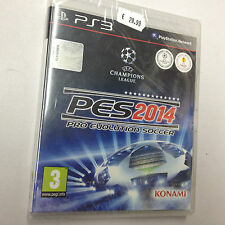 PES 2014 PRO EVOLUTION SOCCER PS3 PLAYSTATION 3 PAL NUOVO SIGILLATO