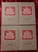 The World Book Illustrated Home Medical Encyclopedia (4 Volumes) Hardcover Books