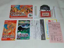 Game Boy Advance JAP Pokemon Fire Red (with wireless adapter) U1401