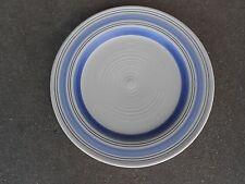 "Pfaltzgraff  RIO 11"" DINNER PLATE Cream Rim  Blue Bands  China"