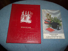 1976 ST CLAIRSVILLE HIGH SCHOOL YEARBOOK ST CLAIRSVILLE OH COMMENCEMENT BOOK TOO