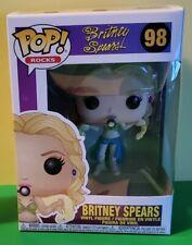 "Britney Spears - Funko Pop! Rocks ""I'm A Slave For You"" Slave 4 U #98"