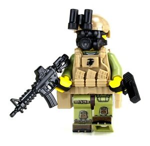 Marine Expeditionary Unit (MEU) VBSS made with real LEGO® minifigure