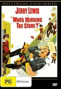 WHO'S MINDING THE STORE? DVD 1963 NEW Region 4 Jerry Lewis, Jill St. John RARE