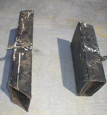 Aluminum Rectangular Screened Air Ducts (Pair) NASCAR ARCA IMCA SCCA Late Model