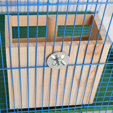 Hay Rack made of Wood Food Dispenser for Rabbit Chinchilla Small Animals