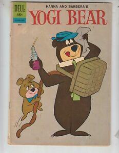 Yogi Bear 8 VF+ (8.5) Dell! Great TV cartoon comic!