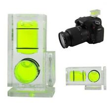 2017HOT TWO AXIS DOUBLE BUBBLE SPIRIT LEVEL FLASHMOUNT FOR HOT SHOE  DSLR CAMERA