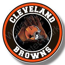 Cleveland Browns Football Vinyl Sticker, Decal Truck, Car Window NFL football