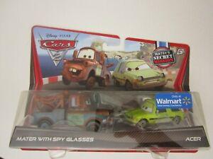 Disney Pixar Cars 2 II Mater Spy Glasses Acer Walmart Exclusive Movie Moments