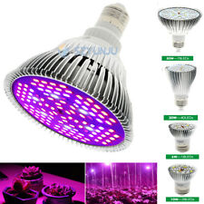 E27 LED Grow Light 6W 10W 50W 100W Lamp Bulb Full Spectrum for Hydroponic Plant