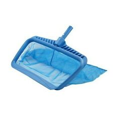 Swimline 8040 Professional Heavy Duty Leaf Rake Deep-Bag - Blue
