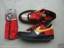 Nike Air Force 1 Low CMFT Signature QS 44.5 Kyrie Irving Blk/Tour Yellow-Uivrsty