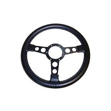 1973-1980 TRANS AM STEERING WHEEL W/ MEDIUM THICKNESS BLACK GRIP & BLACK SPOKES