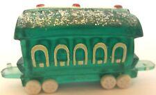 Hallmark 1989 Merry Miniature Candy Green Train Car
