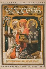 SUCCESS vintage mag poster christmas JOSEPH CHRISTIAN LEYENDECKER 24X36 rare