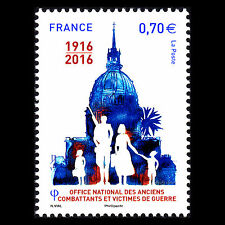 France 2016 - French National Office for Veterans and Victims of War  - MNH