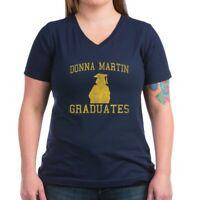 CafePress Donna Martin Graduates T Shirt Women's V-Neck Dark T-Shirt (802642567)