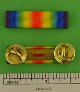 WWI Victory Medal Mounted Ribbon Bar - World War One - USA Made - WW1