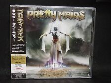 PRETTY MAIDS Louder Than Ever + 1 JAPAN CD + DVD Nordic Union Missing Tide Zan