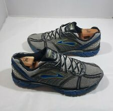 Brooks Men's Running Shoes Trance 12 Silver/Blue 1101301D740 Sneakers Size 10