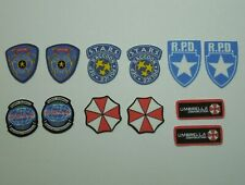 1/6 Scale Resident Evil Fabric Patches for action figures