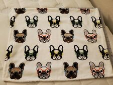 Dog Quilt Blankets Fabric Soft Cotton/Fleece 17×23 for S -M Dogs