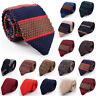 Fashion Men Colourful Stripe Knit Knitted Tie Necktie Narrow Slim Skinny Woven