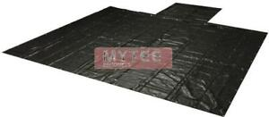 "Flatbed Heavy Duty 18oz Black Lumber Tarp 20x27 (6' Drop) - 3 Rows of ""D"" Rings"
