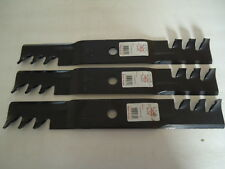 "3 PK HD Mulching Blades 54"" For John Deere 325 335 345 425 445 455 M115496"