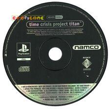 TIME CRISIS PROJEC TITAN Ps1 Versione Promo Europea gioco completo »» SOLO DISCO