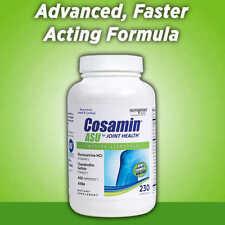 Cosamin ASU for Joint Health 230 Capsules Glucosamine Chondroitin AKBA NEW!