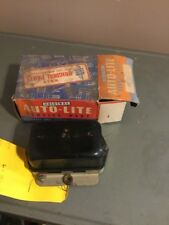 1952 53 54 55 Studebaker 1955 Hudson NOS AutoLite VOLTAGE REGULATOR Positive GND