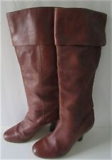 Stein World Women's Brown SoftLeather English Riding Boot Size 8 B