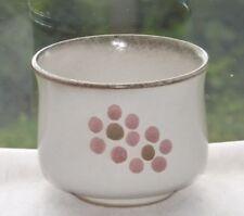 Vintage Retro Denby Stoneware 1970s Gypsy Pattern Sugar Bowl