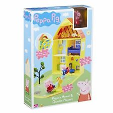 "Peppa Pig 15636cmpeppa's casa & Jardín"" playset a"