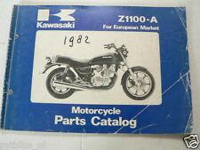 KAWASAKI Z1100-A A1,A2 MODELS 1981 PARTS CATALOG MOTORCYCLE A
