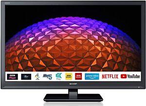 "Sharp 1T-C24BC0KR1FB (24BC0K) 24"" Smart LED TV Refurbished"