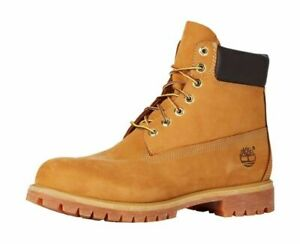 Timberland 10061024 Premium Waterproof Lace-up Men's Boots - 11 US, Wheat Nubuck