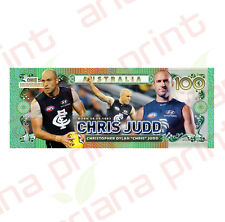 Chris Judd - Australian 100 Dollar Novelty Money