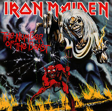 Parche imprimido /Iron on patch, Back patch, Espaldera / - Iron Maiden, I